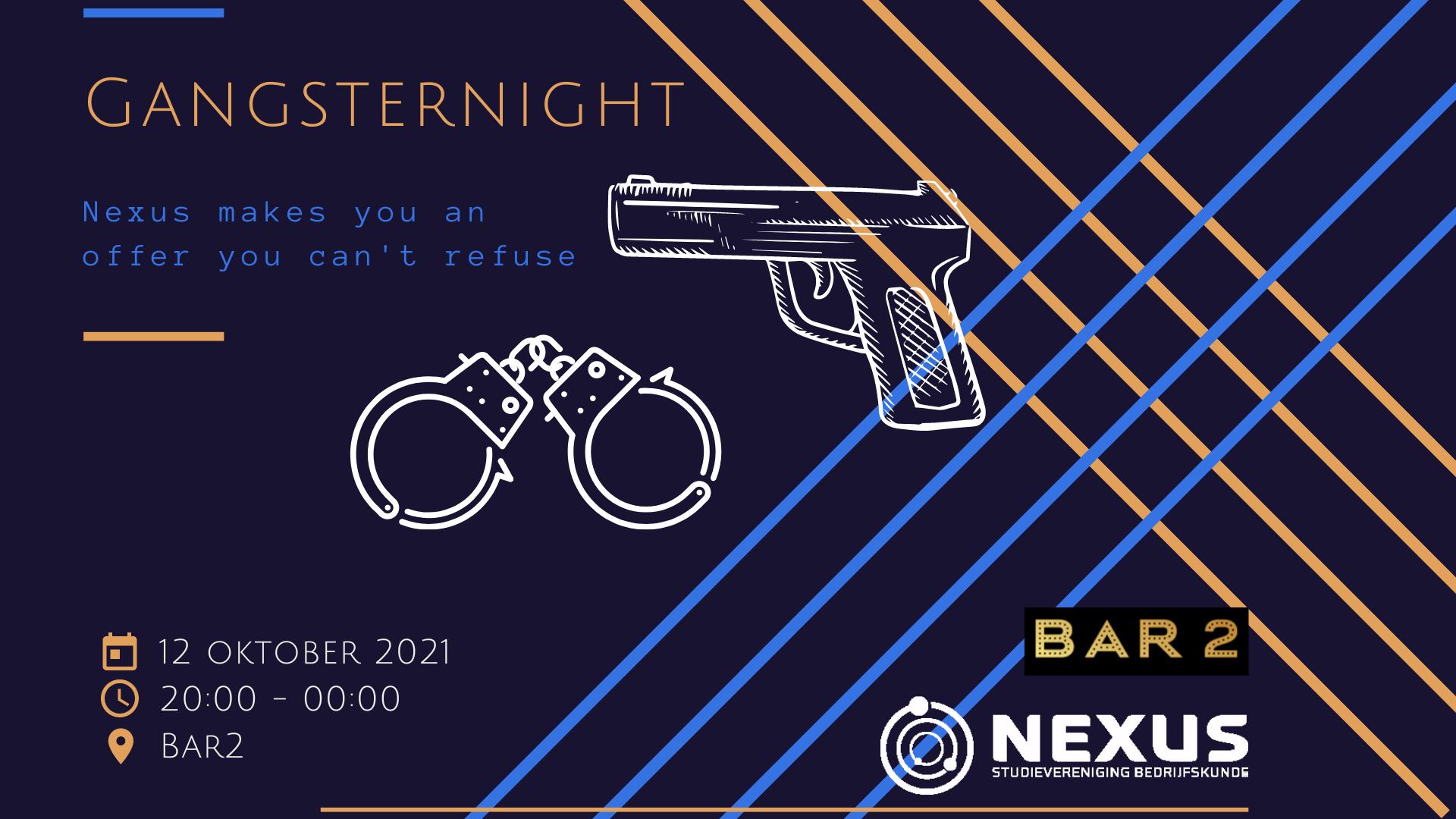Borrel: GangsterNight!