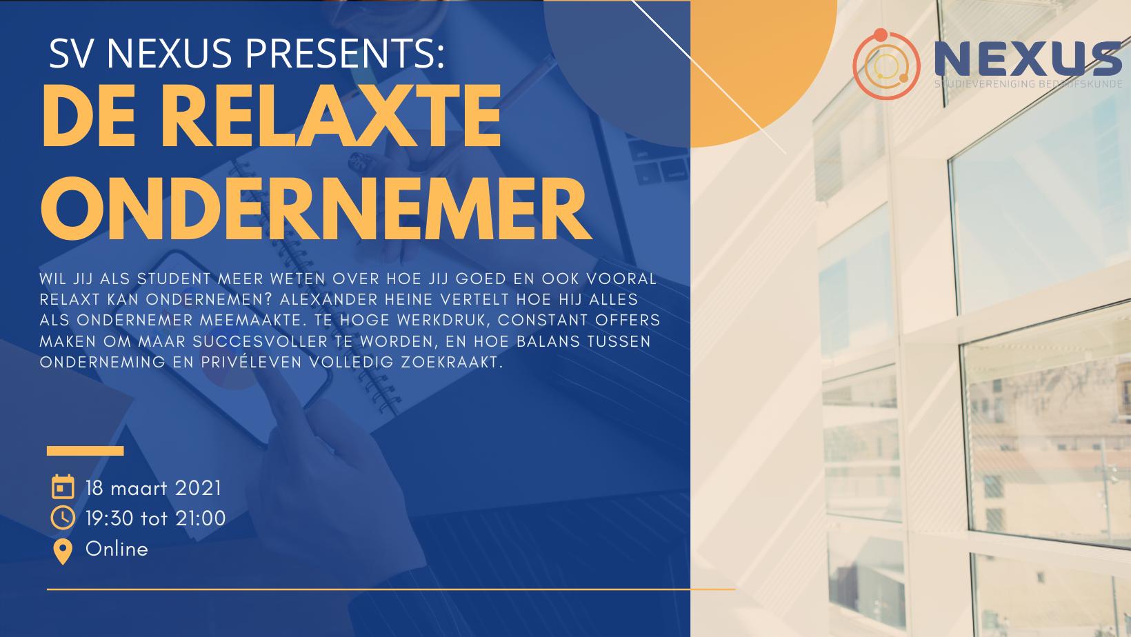 Formeel: De relaxte ondernemer