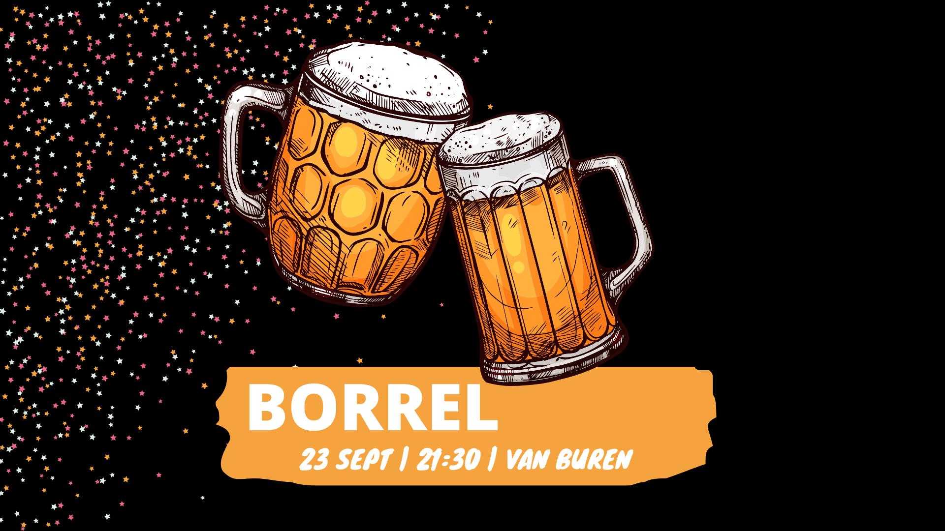 Borrel: Drankjes bij Van Buren