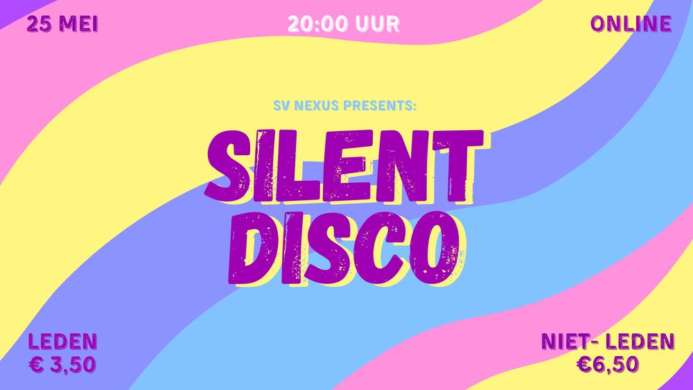 Maandelijkse borrel: Silent Disco