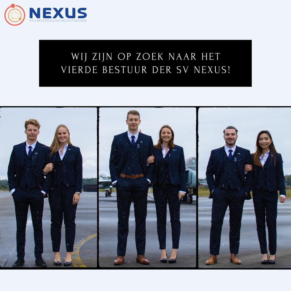 Wij zijn op zoek naar het vierde bestuur der studievereniging Nexus!